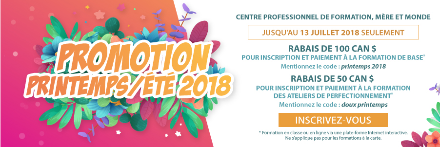 Promotion formation accompagnement naissance